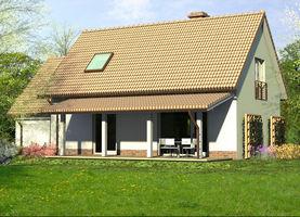 DANA M z garażem  - dom energooszczędny o powierzchni 100,1 m2 + 20,1 m2