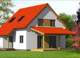 OLO  - dom energooszczędny o powierzchni 103,0 m2