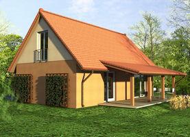 DANA S  - dom energooszczędny o powierzchni 75,2 m2