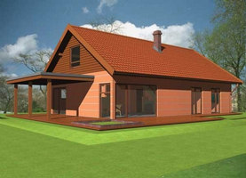 GEN-Bis  - dom energooszczędny o powierzchni 136,2 m2