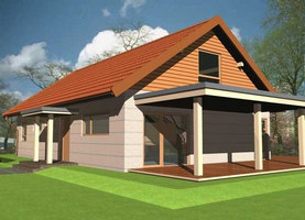 GEN  - dom energooszczędny o powierzchni 154,3 m2