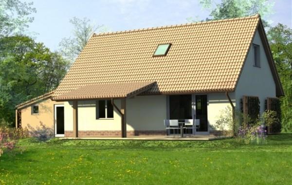 Budowa domu typowego DANA z garażem w Szczepanowie k. Środy Śląskiej