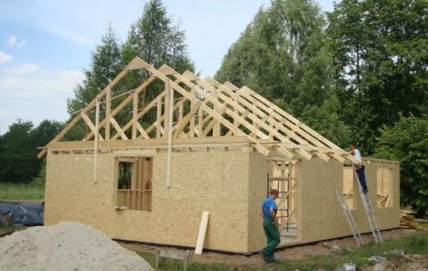 Budowa domu typowego w Żukowie k. Polkowic