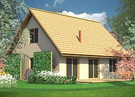 Dom L0  - dom energooszczędny o powierzchni 95,8 m2